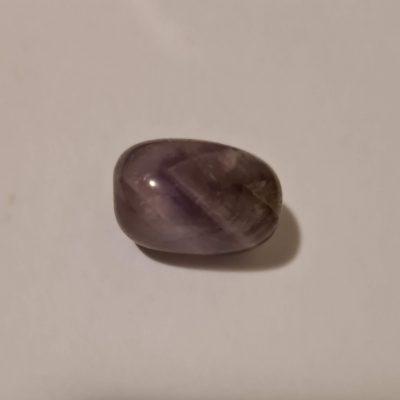 Amethyst tumblestone crystal