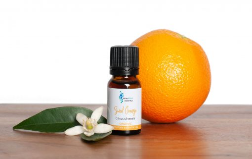 Sweet orange essential oil with orange